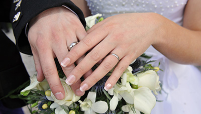 Renew your wedding vows in romantic Gretna Green